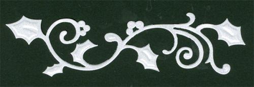 CRAFTS TOO Cutting Stencil - Щанца за рязане HOLLY BORDER 14.5 x 4cm