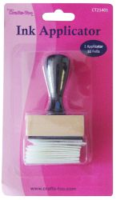 INK Applicator  CRAFTERS -10бр. апликатори за мастило + дръжка