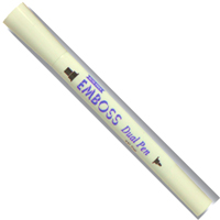 EMBOSS Dual Pen - ЕМБОС маркер с плосък и объл връх / tinted