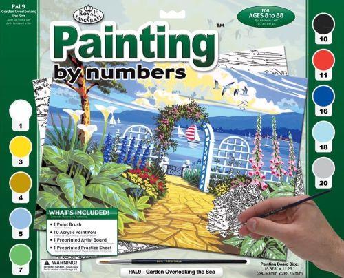 R&L,USA - Рисуване по номера А3- * PAL9