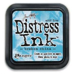 "Distress ink pad by Tim Holtz - Тампон, ""Дистрес"" техника - Broken china"