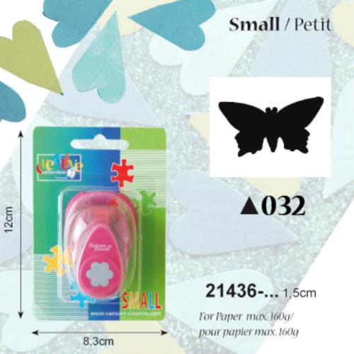 CREATIVE Пънч 16мм - Пеперуда