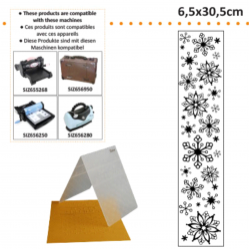 DARICE Emboss Folder - Папка за релеф 65 х 305 мм. Lace
