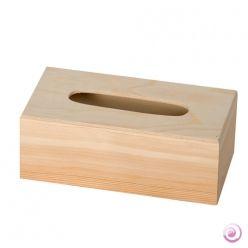 BOX NAPKIN DISPENSER - Дървена кутия за салфетки или бакшиши голяма