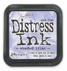 "Distress ink pad by Tim Holtz - Тампон, ""Дистрес"" техника - Shaded Lilac"