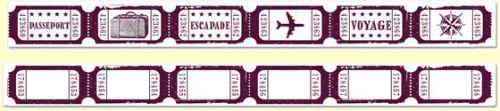 ALADINE STAMP XL SET - Фонов бордюрен гумен печат 03573 / 5 X 30 cm.