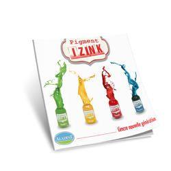 IZINK TECHNIQUE BOOK - Книга `видове техники и приложение на мастилото`