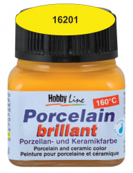 PORCELAIN BRILLANT - Боя за порцелан  20 мл. - Canary Yellow