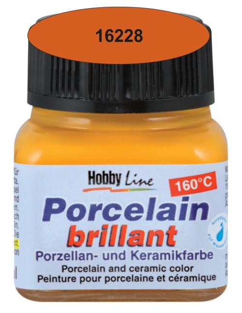 PORCELAIN BRILLANT - Боя за порцелан 20 мл. - Terracotta