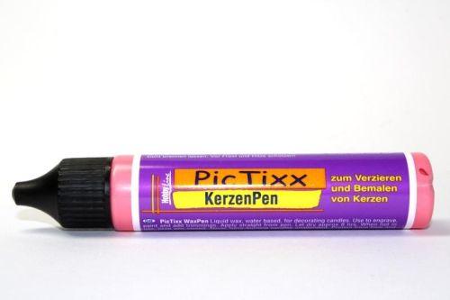 KerzenPen, Germany - Боя за рисуване върху свещи 29мл. - Червен металик