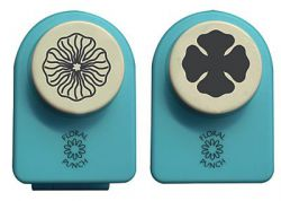 Nellie Snellen Medium SET - Комплект ембос пънч + пънч FLP046 - 2.5 cm.