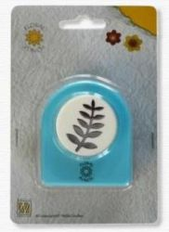 Nellie Snellen Jumbo Floral Punch - Флорален пънч FLP008 - 3 cm.
