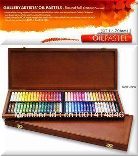 GALLERY OIL PASTELS -  Маслен пастел в дървена кутия 72цв.