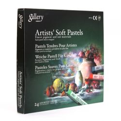 GALLERY Artists` Soft Pastels - Сухи пастели  24 цв.