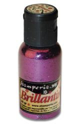 Brillantini,Stamperia - Диамантен брокат за декорация 20 гр. PURPLE