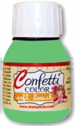 "Confetti COLOR 60 ml - ""КАДИФЕНА"" декор боя  - Saten Pale Green"