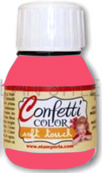 "Confetti COLOR 60 ml - ""КАДИФЕНА"" декор боя  - Saten Coral"