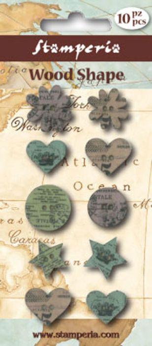 BUTTONS WOOD - Дървени `ВИНТИДЖ` копчета