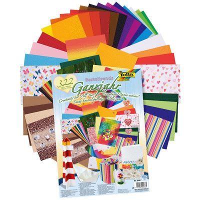 Folia Set All Year II - Креативен комплект 322 части