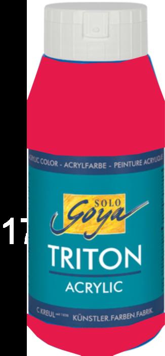 TRITON ACRYLIC  750 ml - Декор акрил МАГЕНТА / 40