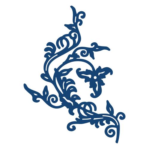 Tattered Lace Dies - Детайлни ажурни щанци - Ornate Flourish