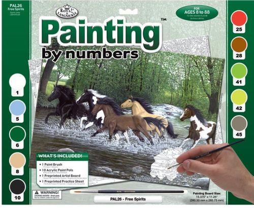 R&L,USA - Рисуване по номера А3- * PAL26