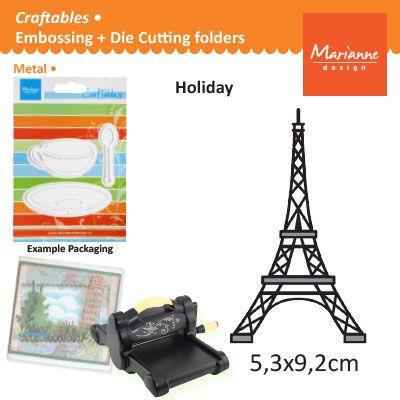 Marianne Design - Шаблон за рязане и ембос CR1220