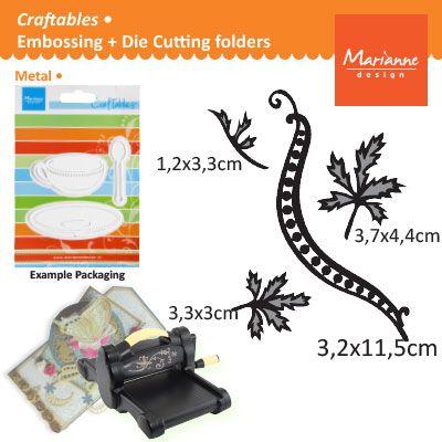 Marianne Design - Шаблон за рязане и ембос CR1243