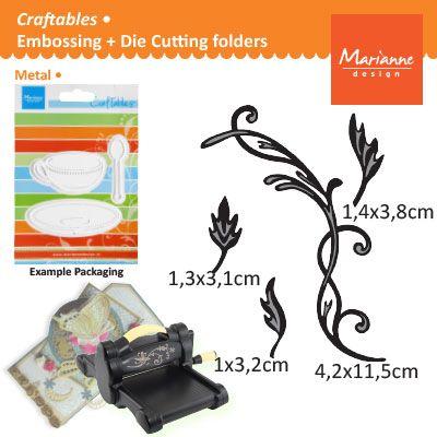 Marianne Design - Шаблон за рязане и ембос CR1244