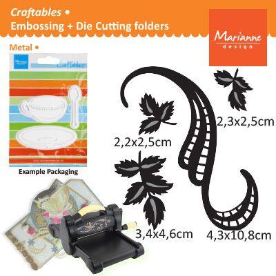 Marianne Design - Шаблон за рязане и ембос CR1245