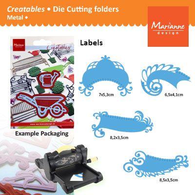 Marianne Design - Шаблон за рязане и ембос LR0241
