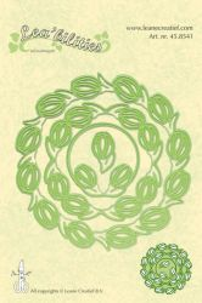 Lea-bilities Cut & Emboss Die / Frame Flowers - Шаблони за рязане и ембос