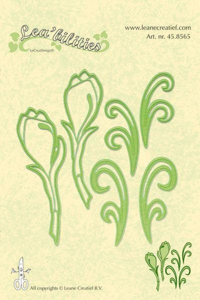 Lea-bilities Cut & Emboss Die / Flowers Cut - Шаблони за рязане и ембос