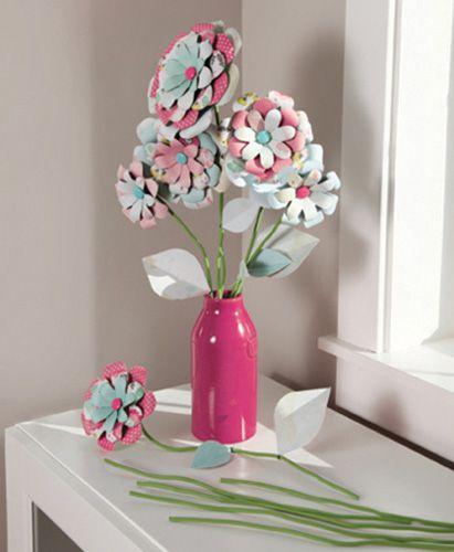 BOARD & PUNCH * FLOWERS - Профи инструмент за изработка на 3D цветя