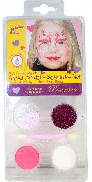 Aqua Make-up set ,Germany  - Комплект бои за лице тяло + четка, PRINCESS