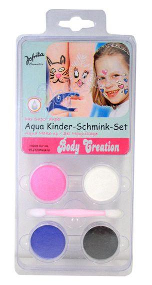 Aqua Make-up set ,Germany  - Комплект бои за лице и тяло + четка, BODY