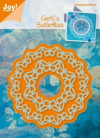 JOY CraftsGerti,s Butterflies - Щанци за рязане и ембос 6002/0312