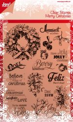CHRISTMAS by JOY Crafts STAMPS - Дизайнерски печати 15х21см - 0114