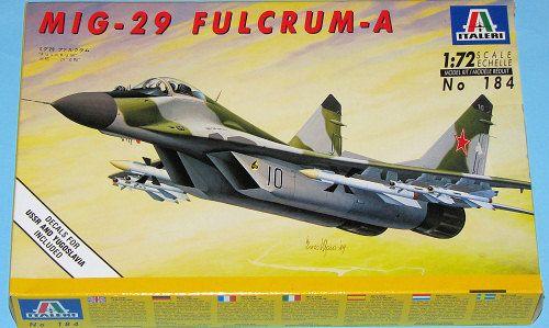 ITALERI MIG-29 FULCRUM