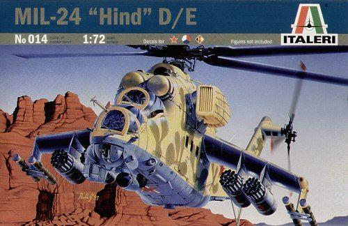 ITALERI MIL-24 HIND D/E