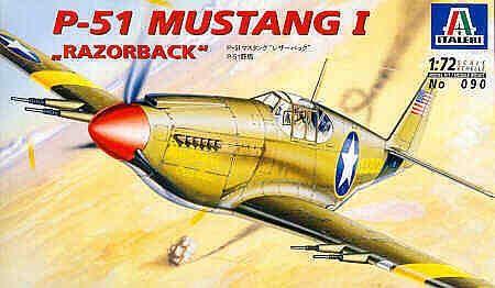 ITALERI P-51 MUSTANG