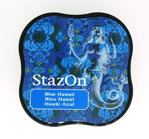 """StazOn MIDI - Тампон за всякаква твърда или гланцирана повърхност - """"Blue Hawaii"""""""