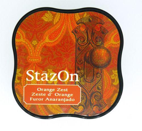 """StazOn MIDI - Тампон за всякаква твърда или гланцирана повърхност - """"Orange Zest"""""""""""