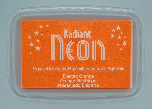 """Radiant NEON """"electric orange"""" - Тампон с неоново светлоустойчиво мастило"""