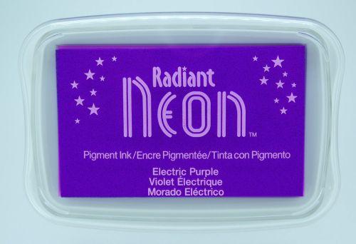 """Radiant NEON """"electric purple"""" - Тампон с неоново светлоустойчиво мастило"""