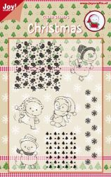CHRISTMAS by JOY Crafts STAMPS - Комплект печати 15х10.5см  0120