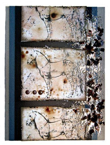 AGED ENAMEL, USA - Античен eмбосинг емайл SILVER
