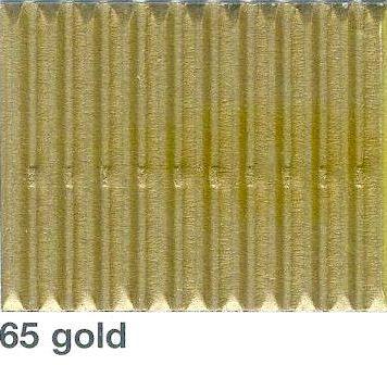 FOLIA, Germany - Цветно деко велпапе 50x70 cm. - ЗЛАТО