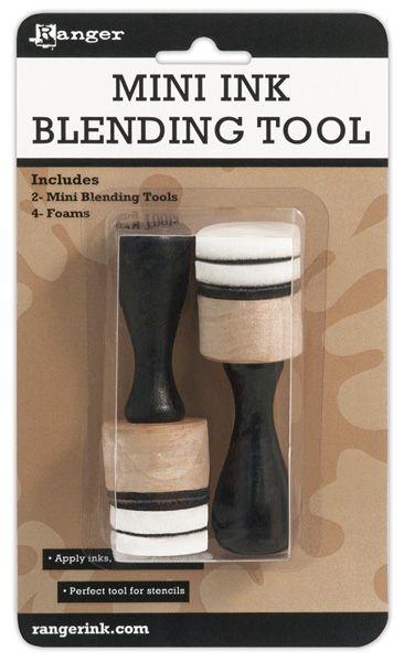 """Mini INK Blending Tool 1"""" by RANGER - Инструмент за  разнасяне на мастила и дистрес ефект"""