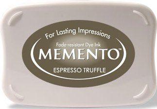 MEMENTO INKPAD - Тампон с ярък отпечатък ESPRESSO TRUFFLE